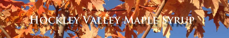 Hockley Valley Maple Syrup